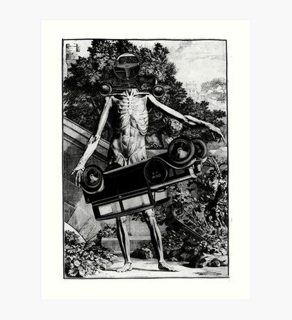 Car Thief 3. Art Print