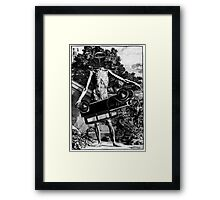 Car Thief 3. Framed Print