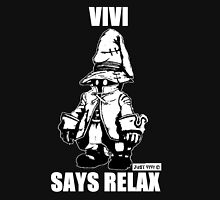 Vivi Says Relax - Monochrome White Men's Baseball ¾ T-Shirt