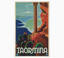 Vintage poster - Taormina Kids Clothes