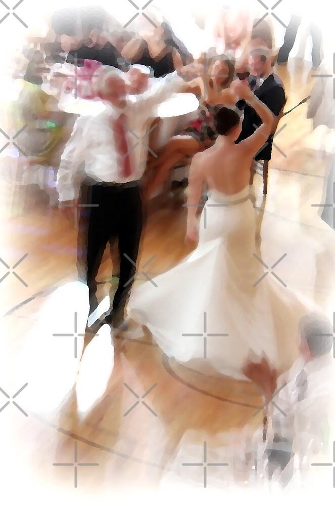 Dancing bride by Michaela Kopecka