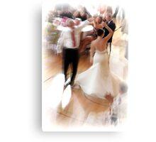 Dancing bride Canvas Print