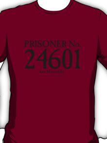 Les Miserables - Prisoner No. 24601 T-Shirt