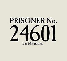 Les Miserables - Prisoner No. 24601 by Emma Davis