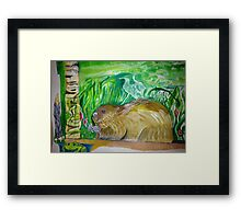 Beaver continued Framed Print