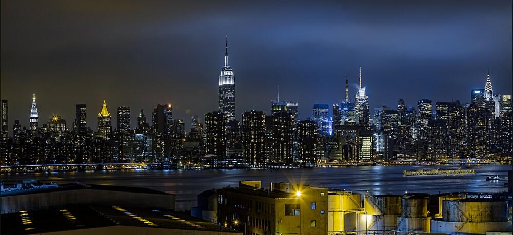 New York Skyline HD by kyledavid91