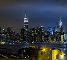 New York Skyline HD by kyledavid91