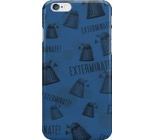 Daleks - Blue iPhone Case/Skin