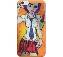 Smile Pretty and Carry a Big Stick I-Phone Cover iPhone Case/Skin