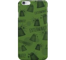 Daleks - Green iPhone Case/Skin