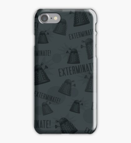 Daleks - Grey iPhone Case/Skin