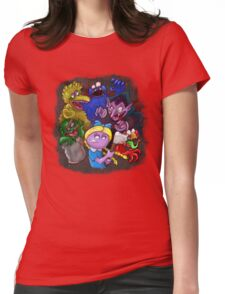 Resident Sesame Womens Fitted T-Shirt
