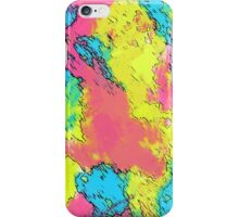 Colorfull Abstract Art V1 iPhone Case/Skin