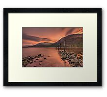 Goodbye To Yesterday Framed Print