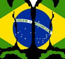 Viva Brasilia! Sticker
