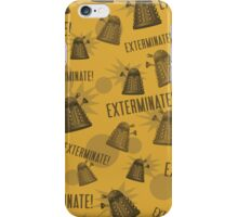 Daleks - Yellow iPhone Case/Skin