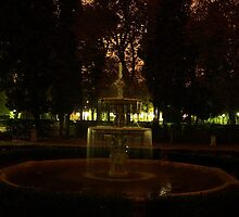 Fountain in Madrit by PMJCards