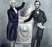 Washington and Lincoln  by warishellstore