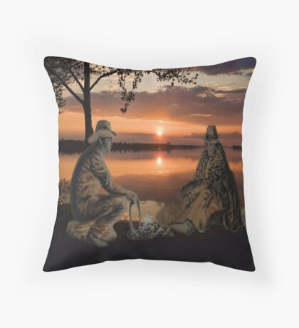 (◡‿◡✿) (◕‿◕✿) SUNSET COWBOYS PICTURE-PILLOW-TOTE BAGS- CELL PHONE COVERS ECT... (◡‿◡✿) (◕‿◕✿) Throw Pillow