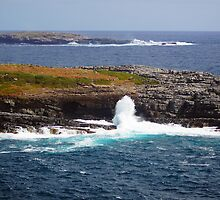Wave Crash Event, Flinders Chase National Park - Kangaroo Island  by Henry Inglis