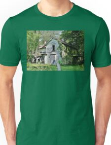 Faded Charms Along the Wisconsin River Unisex T-Shirt