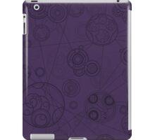 Gallifrey Pattern - Purple iPad Case/Skin