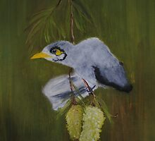 Australian Miner Bird by Nicole Gibson