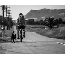 Man's Best Friend Photographic Print