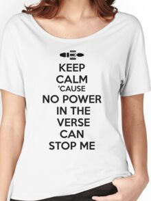 Firefly No Power in the Verse can stop Me Women's Relaxed Fit T-Shirt
