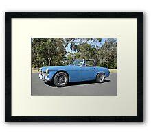 Austin Healey Sprite - Mk3 Framed Print