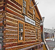 Old Wood Building Heritage Park, Calgary, Alberta by Laurast