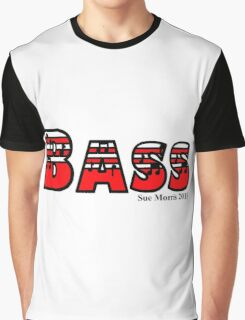 Bass Red Graphic T-Shirt
