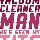 Vacuum Cleaner Man by Look Human