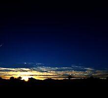 Las Vegas Desert Sunset by LVPhoto