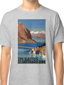 Vintage poster - Switzerland Classic T-Shirt