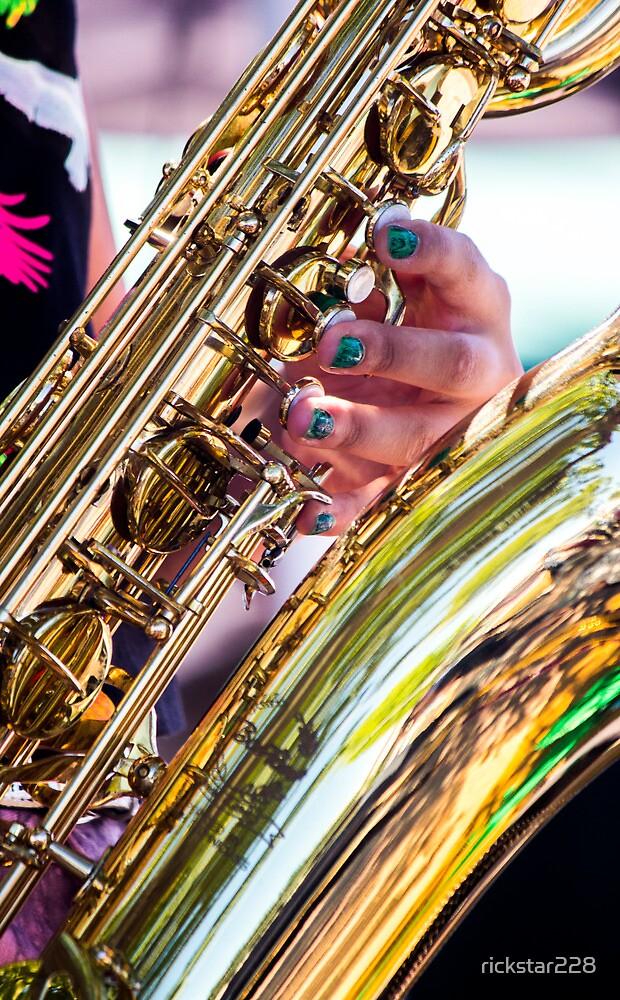 Saxophones and Nail Polish by rickstar228