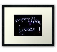 HAPPY NEW YEAR ~ 2013 Framed Print