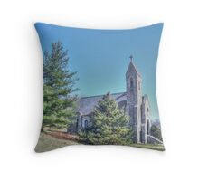 Dahlgren Chapel Throw Pillow
