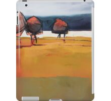 Red Trees Abstract Painting iPad Case/Skin