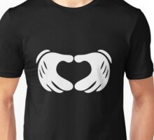 Mickey Hands - Heart Unisex T-Shirt