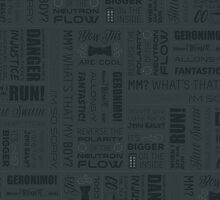 Dr Who Quotes - Grey by cinderkella