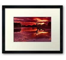 """Morning On The Minya"" Framed Print"
