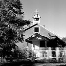 Lyden Church, New Mexico by Susan Chandler