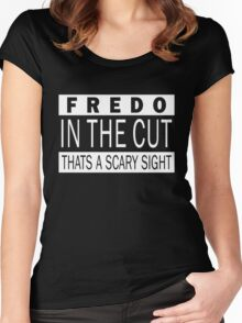 Fredo in the cut Women's Fitted Scoop T-Shirt