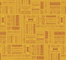 Dr Who Quotes - Yellow by cinderkella