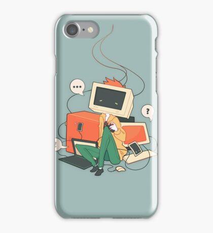 Cyber Kid iPhone Case/Skin