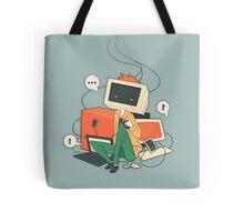 Cyber Kid Tote Bag