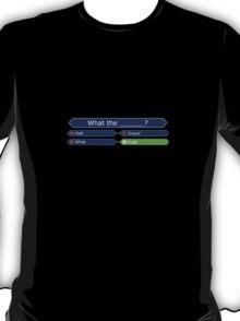Who Wants to be a Millionaire - Battlestar Galactica T-Shirt