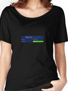Who Wants to be a Millionaire - Battlestar Galactica Women's Relaxed Fit T-Shirt