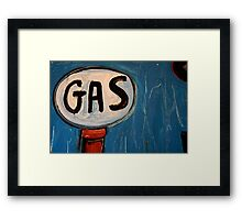 It's a Gas! Framed Print